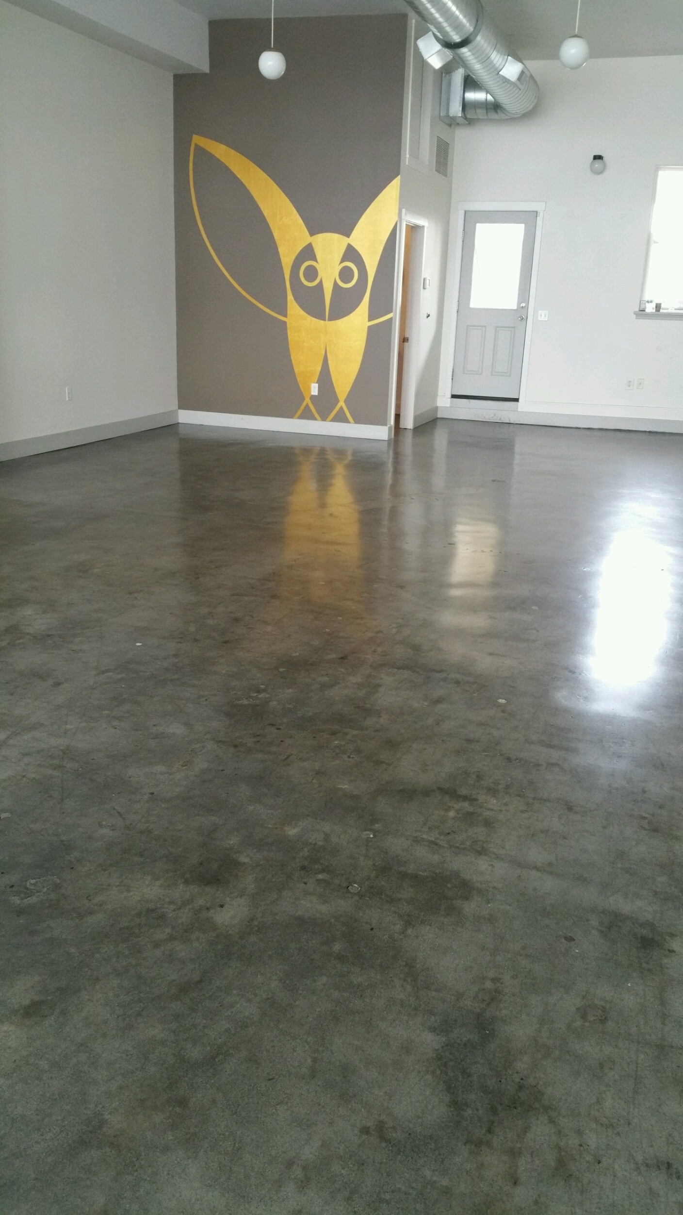 Green Concrete Floor Cleaning Refinishing